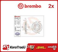 2x 09A6521X BREMBO OE QUALITY BRAKE DISC SET