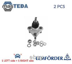 2x LEMFÖRDER FRONT LOWER SUSPENSION BALL JOINT PAIR 28360 02 P NEW