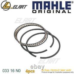 4x Piston Ring Kit For Vw Audi Skoda Seat Audi Faw Agn Agu Arx Aum Mahle