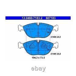 ATE 13.0460-7183.2 Bremsbelagsatz, Scheibenbremse Links für Mercedes-Benz VW