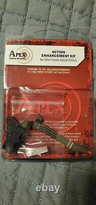 Apex Tactical 102-117 Action Enhancement Trigger Kit Glock G43, G43X, G48 (slim)