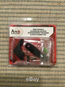 Apex Tactical Action Enhancement Trigger & Duty/Carry Kit for M&P Shield 100-051
