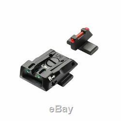 Beretta Sight Kit Fiber Optic For Apx Adjustable 3-dot Night Sight Set EU00066