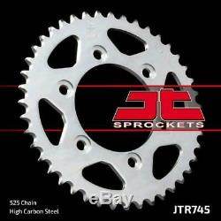 Ducati 916 Monster S4 01-03 Tsubaki Alpha Gold X-Ring Chain & JT Sprocket Kit