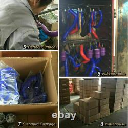 FIT AUDI TT 225HP 1.8T AMU/APX/BAM Silicone Intake Inlet Black Hose Kits AIl Set