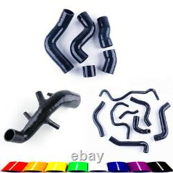 For AUDI TT 225HP 1.8T AMU/APX/BAM Silicone Intake Inlet Black Hose Kits AIl Set
