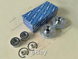 For Seat Toledo Mk2 1.9 Sdi Tdi 99-06 Front Wheel Hub Hubs Flange Bearings Kit