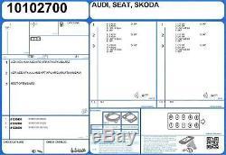 Genuine AJUSA OEM Replacement Cylinder Head Gasket Seal Set 52140000