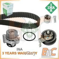 Genuine Ina Hd Water Pump & Timing Belt Kit For Vw Audi Seat Skoda