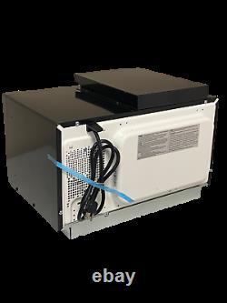 Greystone RV Camper Microwave 0.9 Cu Ft Black With Trim Kit