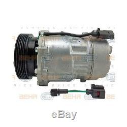 HELLA 8FK 351 125-751 Kompressor, Klimaanlage BEHR HELLA SERVICE für VW