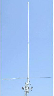 Ham Base Antenna kit with Diplexer and cables 135-180 430-480 8dbd gain apx 7500