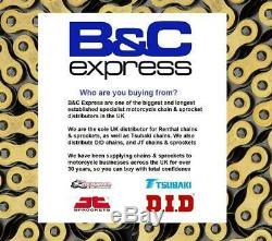 Honda CBX1000 Pro Link 81-82 Tsubaki Alpha Gold X-Ring Chain & JT Sprocket Kit
