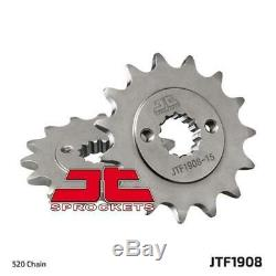 Husqvarna 401 Svartpilen 17-20 Tsubaki Alpha Gold X-Ring Chain & JT Sprocket Kit