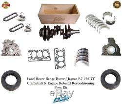 Jaguar 2.7 Crankshaft 276dt Range Rover Reconditioning Parts Engine Rebuild Kit