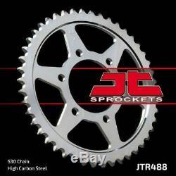Kawasaki ZXR750 L1-L3 93-95 Tsubaki Alpha Gold X-Ring Chain & JT Sprocket Kit
