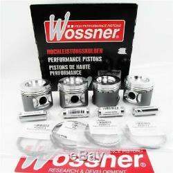 Kolben 4x Kit Wössner Audi S3 TT 1,8l 20V Turbo BAM APY APX Schmiedekolben 225PS