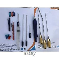 Liposuction Cannula Set For Neck German Quality Reusable Neck Liposuction Kit Ce