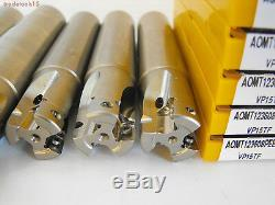 Mitsubishi Milling Kit Apx3000r203sa20sa, Apx3000r254wa25sa With Aomt 12 Inserts