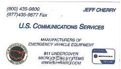 Motorola APX 8500 sharkfin all band antenna system kit VHF UHF 700-800-900