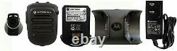 Motorola Bluetooth Wireless Remote Speaker Mic KIT with charger APX6000 APX7000