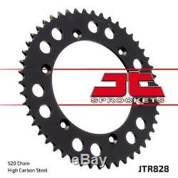 Suzuki DR650 R 90-95 Tsubaki Alpha Gold X-Ring Chain & JT Sprocket Kit