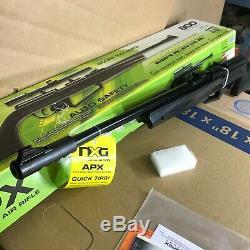 Umarex NXG APX. 177 Pellet BB Gun Multi-Pump Air Rifle with Scope Kit