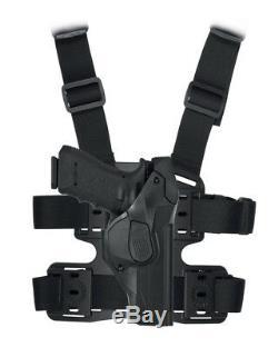 Vega Holster CAMA lvl 3 Proffesional Holster, duty, leg Glock, Beretta, Thigh Kit