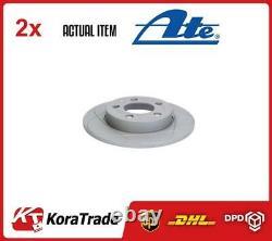 X2 Pcs Brake Disc Set 240309-01331 Ate I