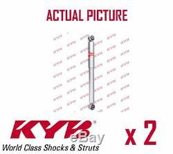 2 X Nouveau Kyb Porteurs Arriere Amortisseurs Pair Struts Shockers Oe La Qualité 553243