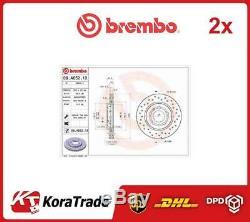 2x 09a6521x Brembo Oe La Qualité De Frein Disque Set