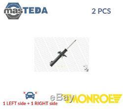 2x Monroe Avant Amortisseurs Struts Shockers 742043sp P Nouveau Oe Remplacement