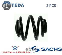 2x Sachs Hinten Schraubenfeder Fahrwerksfeder 996 965 P Neu Oe Qualität
