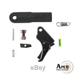 Apex 100-067 Action De Mise En Valeur Trigger & Duty / Kit De Transport Pour S & W M & P Shield 2.0
