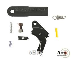 Apex 100-179 Action De Mise En Valeur Aluminium Trigger & Duty / Carry Kit M & P M2.0