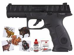 Apx Semi-automatique Blowback Pistolet À Air Comprimé Combo Carabine À Air Comprimé Bb Gun 400 Ft / S