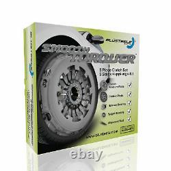 Blusteele Kit D'embrayage Pour Audi Tt Quattro 1.8 Turbo Ltr Apx 1995-2005 & Slave