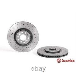 Brembo 2x Bremsscheiben Gelocht/innenbel. Beschichtet 09.7880.1x