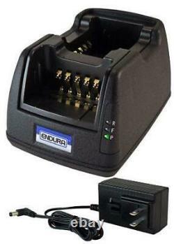 Chargeur Pour Motorola Apx 6000xe Dual Bay Rapid Desk Charger