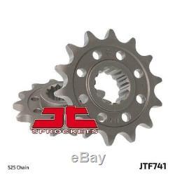 Ducati 1100 Monstre / S 09-10 Tsubaki Alpha Gold X-ring Chain & Jt Sprocket Kit