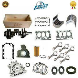 Engine Rebuild Kit Jaguar 2.7 Xr Range Rover Discovery Tdv6 276dt Haute Qualité