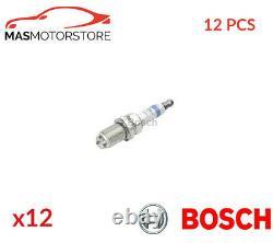 Engine Spark Plug Set Plugs Bosch 0 242 232 501 12pcs G Nouveau Remplacement Oe