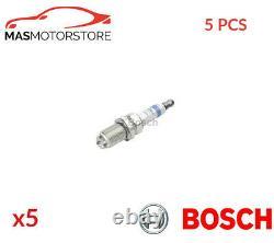 Engine Spark Plug Set Plugs Bosch 0 242 232 501 5pcs G Nouveau Remplacement Oe