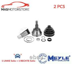 Gelenk Antriebswelle Paar Roue Side Meyle 100 498 0121 2pcs I Für Audi A3, Tt