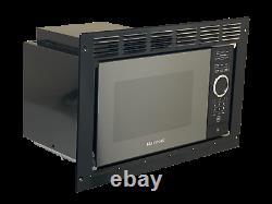 Greystone Rv Camper Micro-ondes 0.9 Cu Ft Noir Avec Kit De Garniture