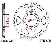 Husqvarna 401 Vitpilen 17-20 Tsubaki Alpha Chaîne X-ring Et Kit De Pignon Jt
