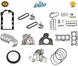 Jaguar 2.7 Joint D'étanchéité Roulements Et Range Rover 276dt Engine Rebuild Set Kit De Pièces