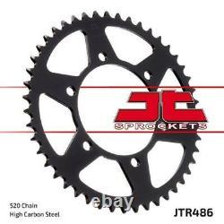 Kawasaki Z300 15-18 Tsubaki Alpha Gold X-ring Chain & Jt Sprocket Kit