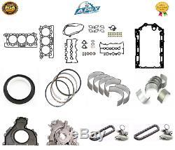Land Rover Range Rover 3.0 306dt Joint Roulements Joint Et Moteur Rebuild Kit De Pièces
