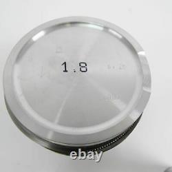 Mahle Piston 3/16in 1. Siège Audi Surdimensionné 1,8l S3 Bam Amk Apy Apx 0331411